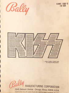 Kiss Complete Pinball Schematic Book