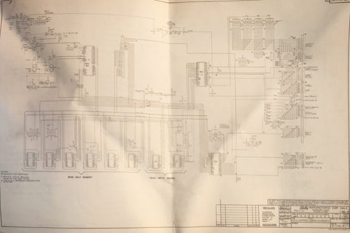 Bally Pinball Main control board Schematic