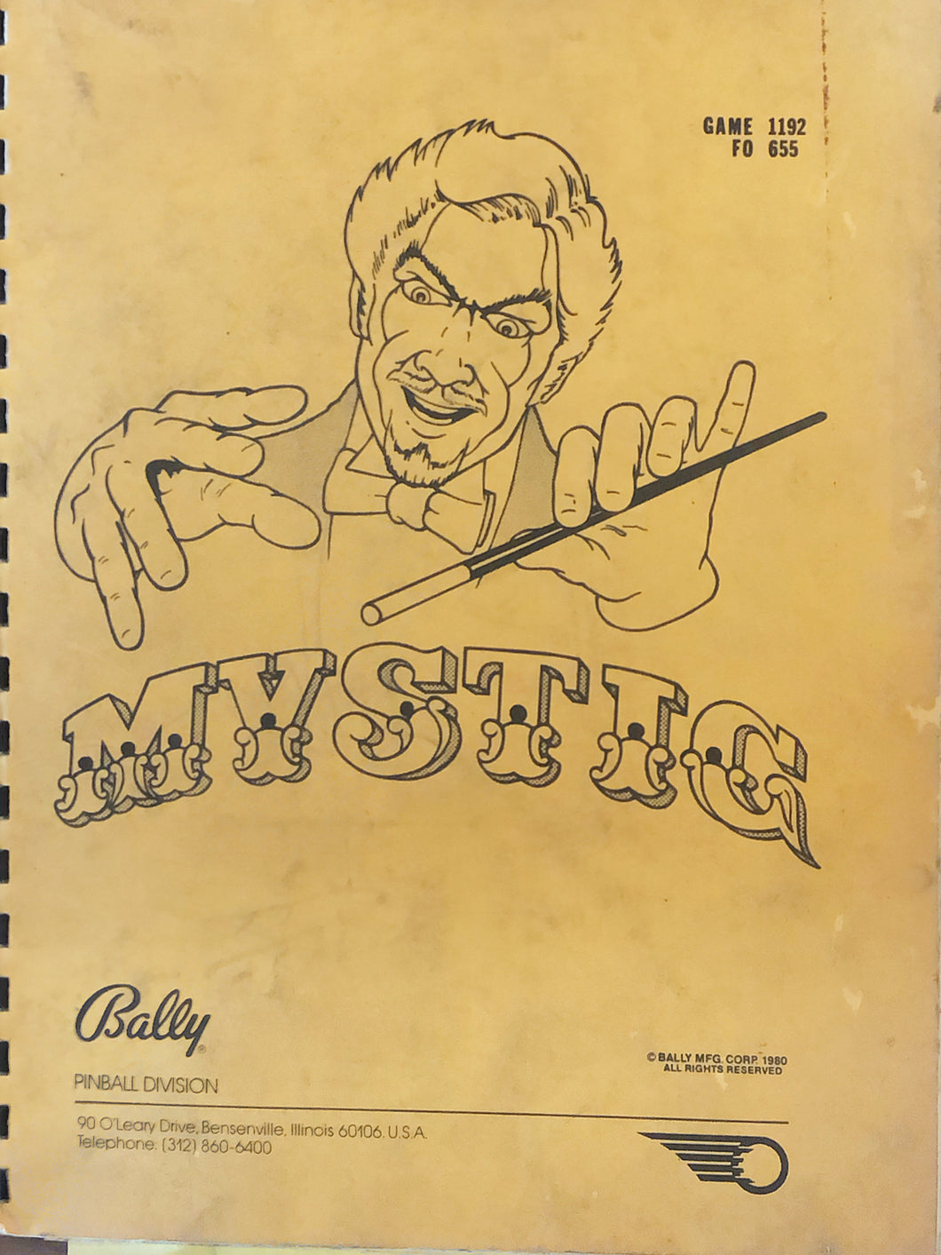 Mystic Complete Pinball Book