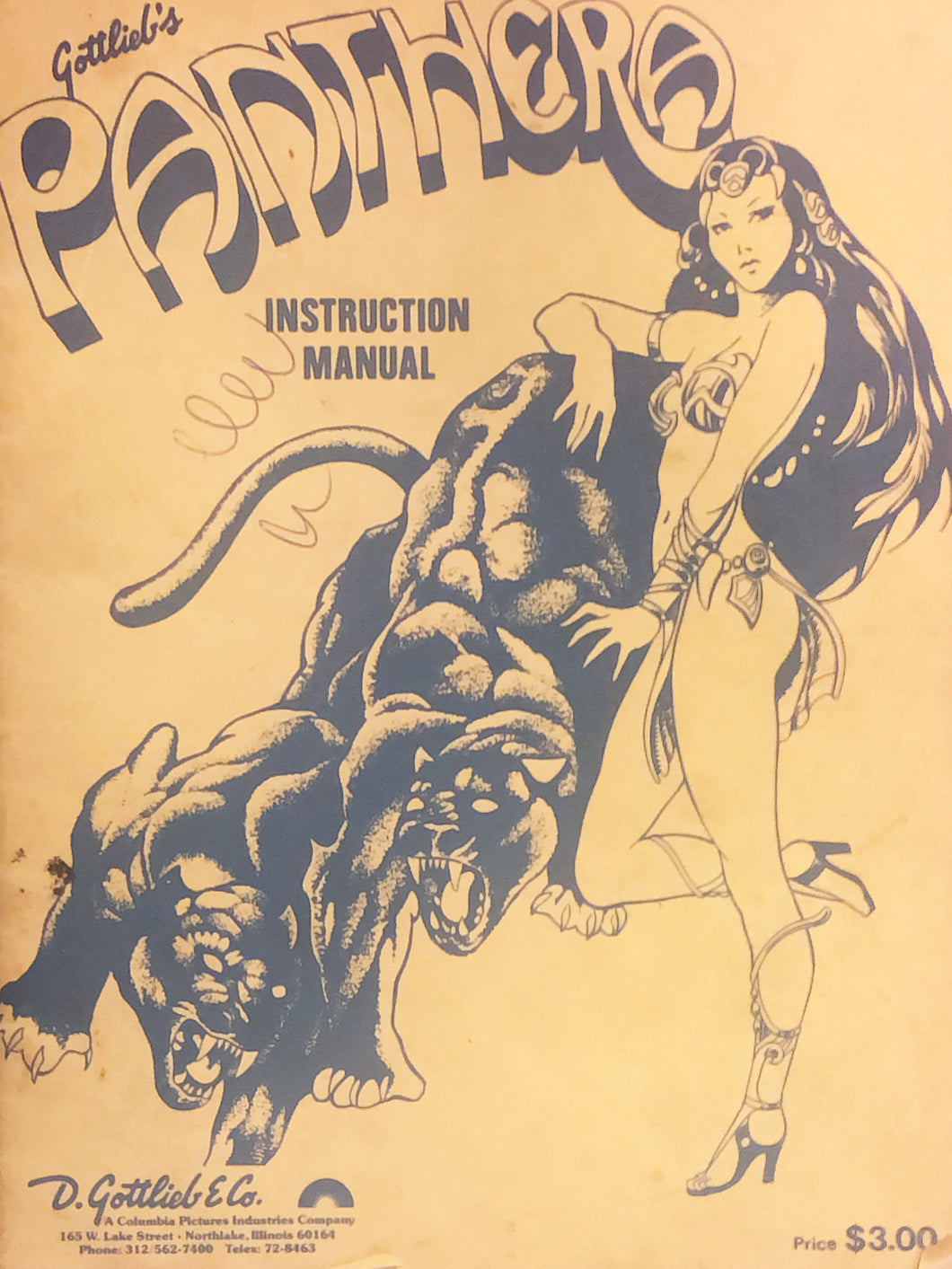 Panthera Pinball Instruction Manual