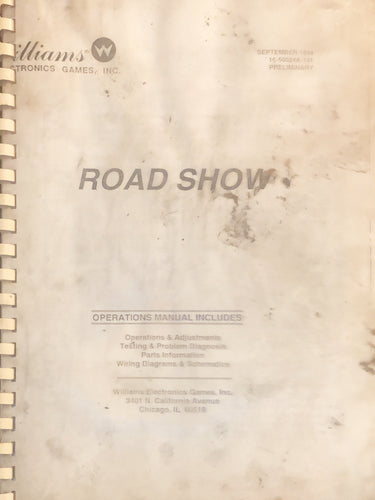 Road Show Complete Pinball Book