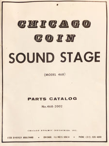 Chicago Coin Pinball Sound Stage Manual