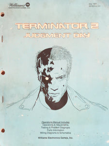 The Terminator Pinball Manual Book