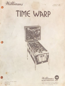 Time Warp Pinball Manual