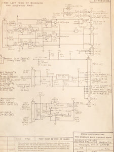 Trident Pinball Schematic Only