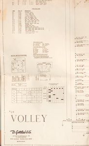 Volley Pinball Schematics Only