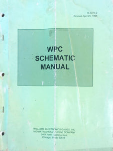 WPC Pinball Schematic Manual 1994