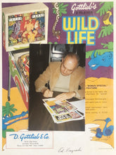 Load image into Gallery viewer, Wild Life Flyer Pinball Flyer Signed