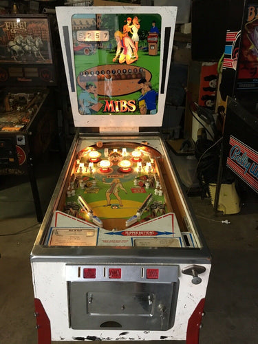 MIBS Gottlieb Pinball Machine