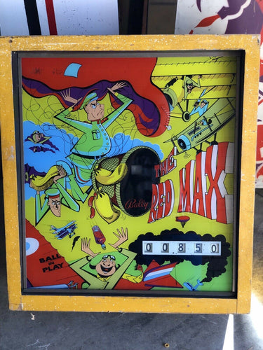 Bally The Red Max Super Rare Pinball