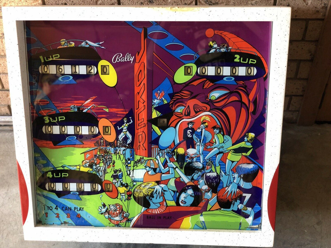 Bally Joker Super Rare Pinball