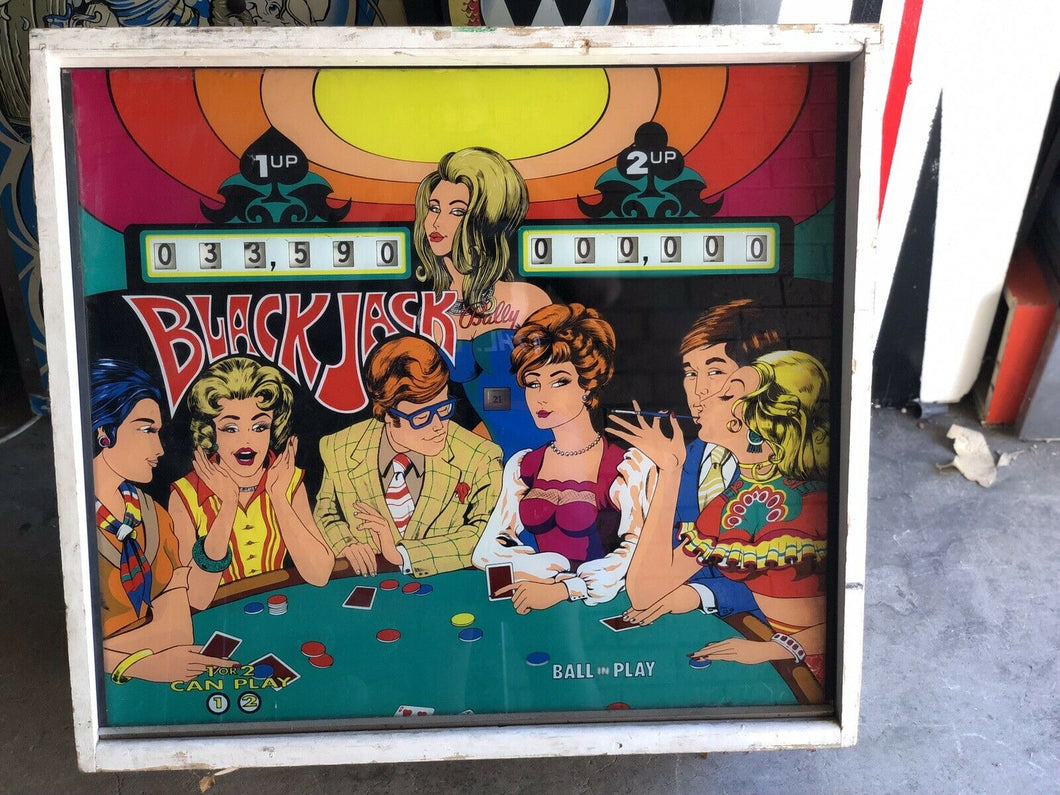 Bally Black Jack (EM Version) Super Rare Pinball