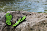 AFR Clothing Safiri Flip Flop Collection - Emerald by VOS Flips