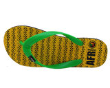 AFR Clothing Citrine Flip Flops - Safiri Collection