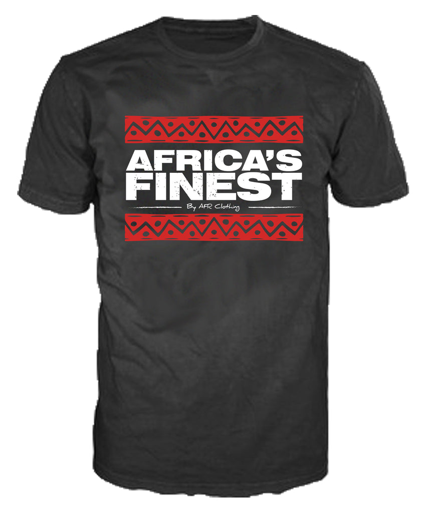 Africa's Finest Black T-Shirt