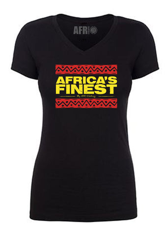 Africa's Finest Red, Black and Gold T-Shirt