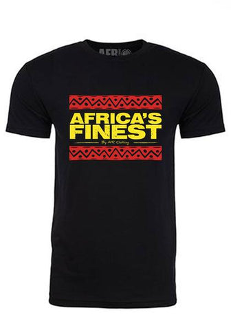 AFRICA'S FINEST- Unisex Black, Red & Gold