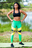 Jamaican Flag Print Leggings