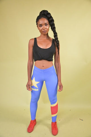 Democratic Republic of Congo Leggings