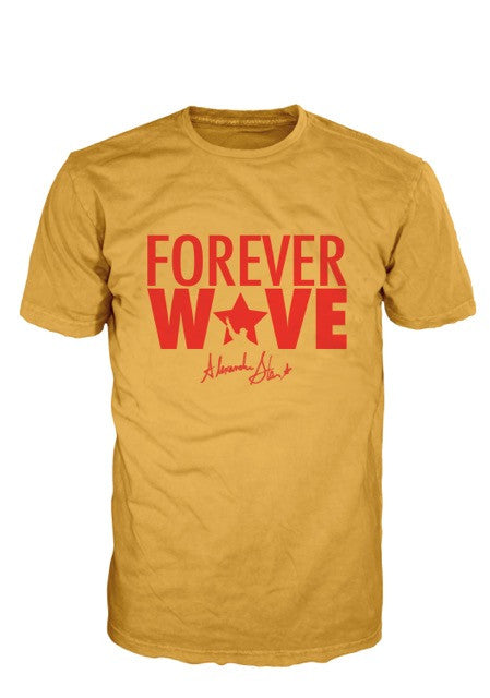 Forever Wave Gold & Red Tee- Limited Edition