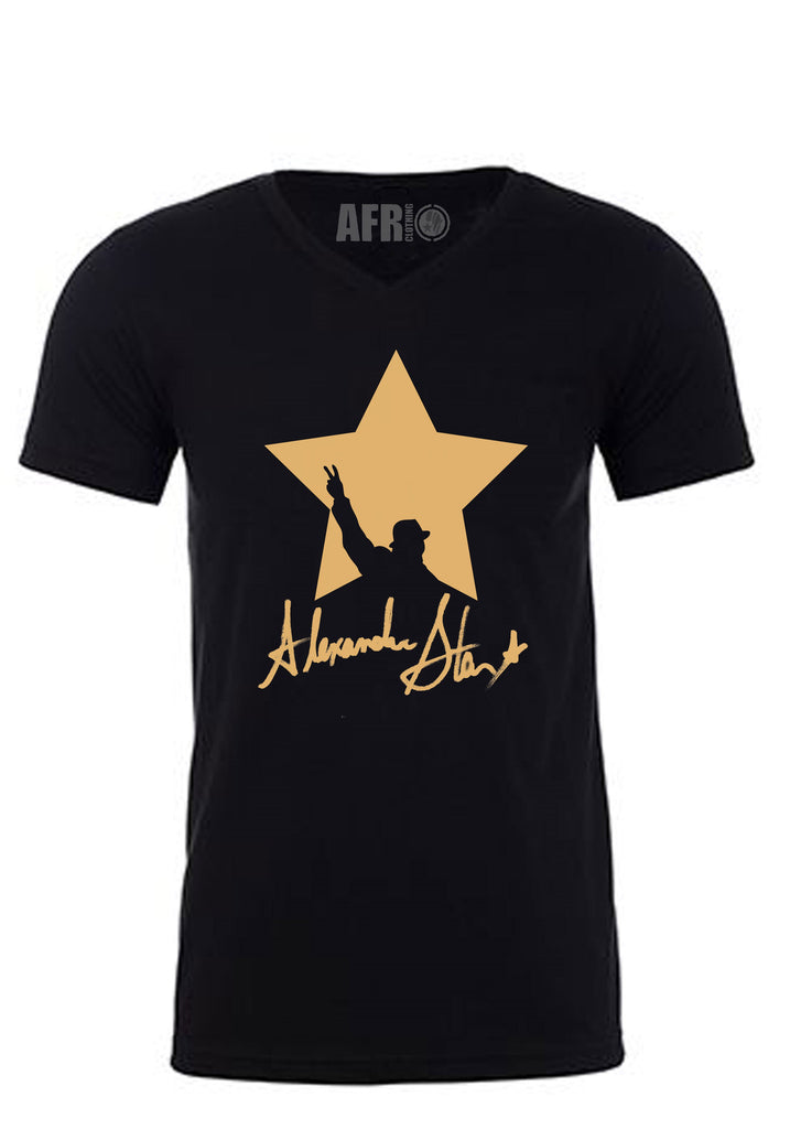 Alexander Star Black T-Shirt