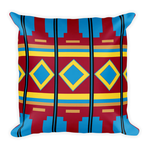 Aztec Print - Square Pillow