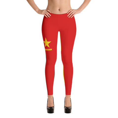 Cameroon Flag Leggings