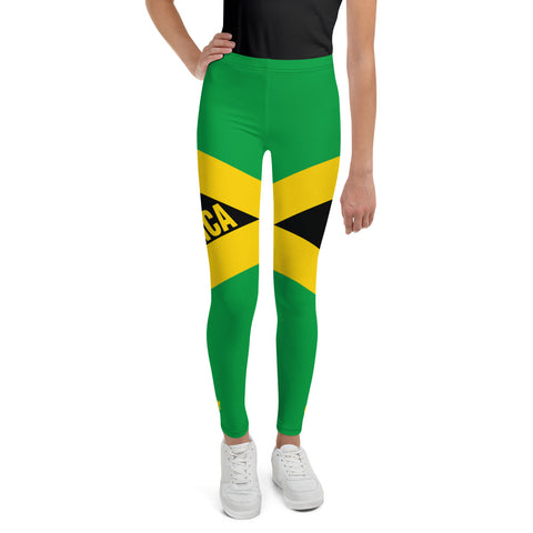 Jamaica Flag Youth Leggings