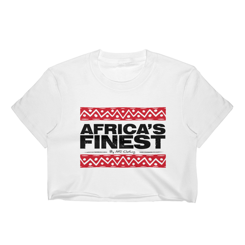 Africa's Finest Ladies Crop Top