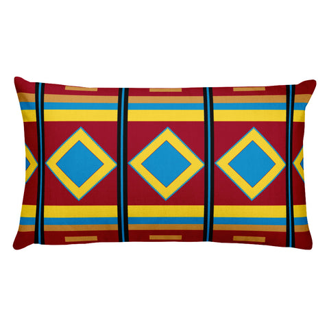Aztec Print - Rectangular Pillow