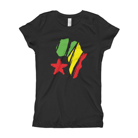 AFRican Star - Girl's T-Shirt