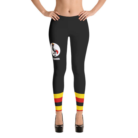 Uganda Flag Leggings
