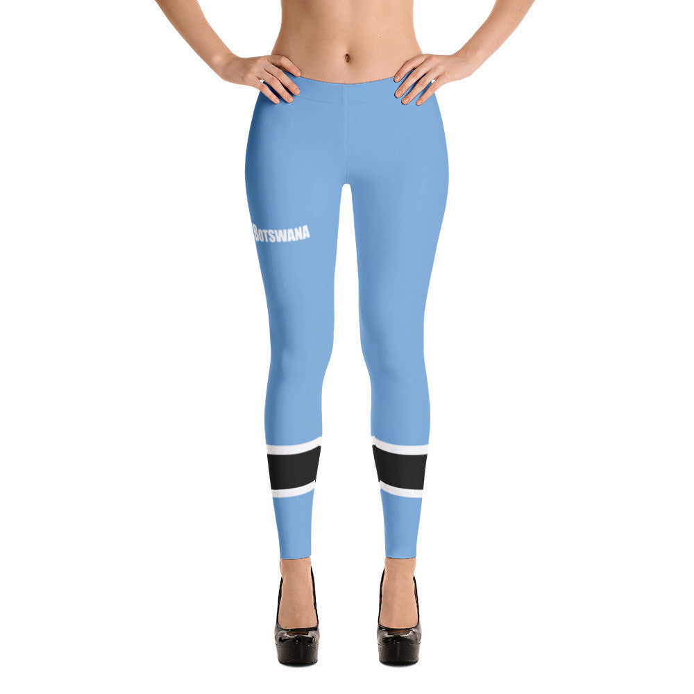Botswana Flag Leggings