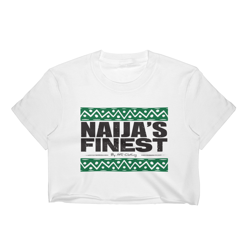 Naija's Finest Ladies Crop Top
