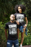 Straight Outta Africa Ladies T-Shirt - Black