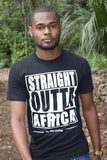 Straight Outta Africa T-Shirt - Black