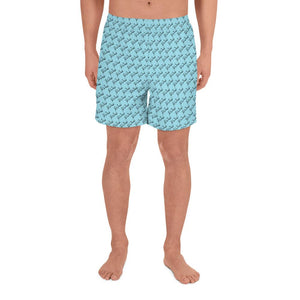 Men Peace Shorts - Swim wear, ShalomSalam pattern