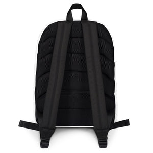 Backpack with pattern