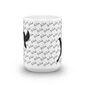 Peace pattern with birds - Mug
