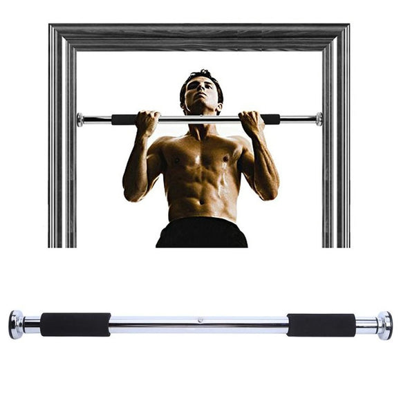 Adjustable Steel Horizontal High Bar Exercise Workout Chin Up Pull Up Training Bar Workout Home Sport Gym Fitness Equipments
