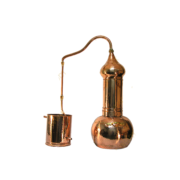 2.5 Gallon Copper Split-Top moonshine still