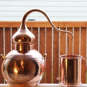 5 gallon copper still- moonshine still
