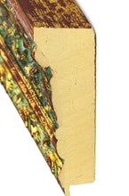 Load image into Gallery viewer, GOLD/RED W/GREEN WASH VINTAGE OPULENT 3 1/2""