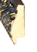 Load image into Gallery viewer, BLACK W/GOLD VINTAGE ORNATE  1 3/4""