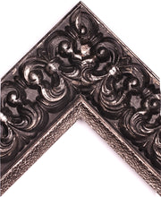 Load image into Gallery viewer, SILVER & BLACK ORNATE PALAZZO