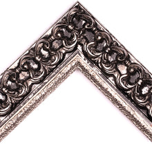 Load image into Gallery viewer, BLACK & SILVER ORNATE PALAZZO  2  3/4""