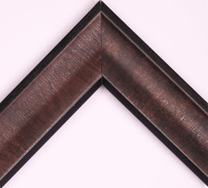 BRONZE  BLACK EDGES 2 1/2""