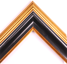 Load image into Gallery viewer, CONTEMPO GOLD AND BLACK 2  1/2""