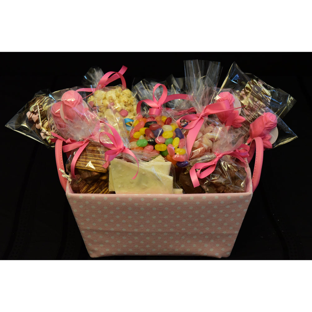 Pretty in Pink Gourmet Basket