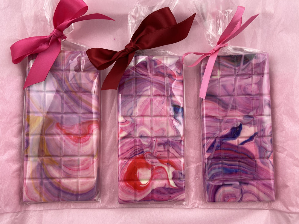 Marble Swirl Chocolate Bars- Colourful Edition